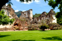 Ruins of La Recoleccion Church of Antigua Guatemala