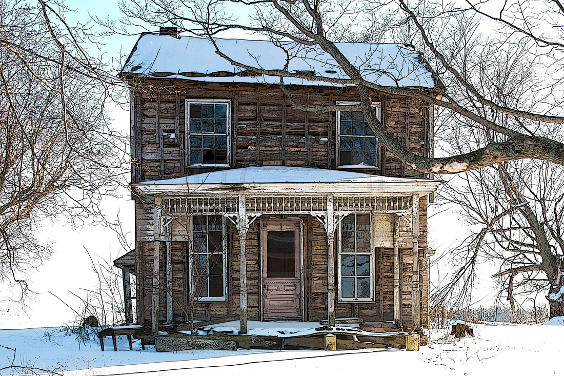 This Ol House Winter Snow. Call to order