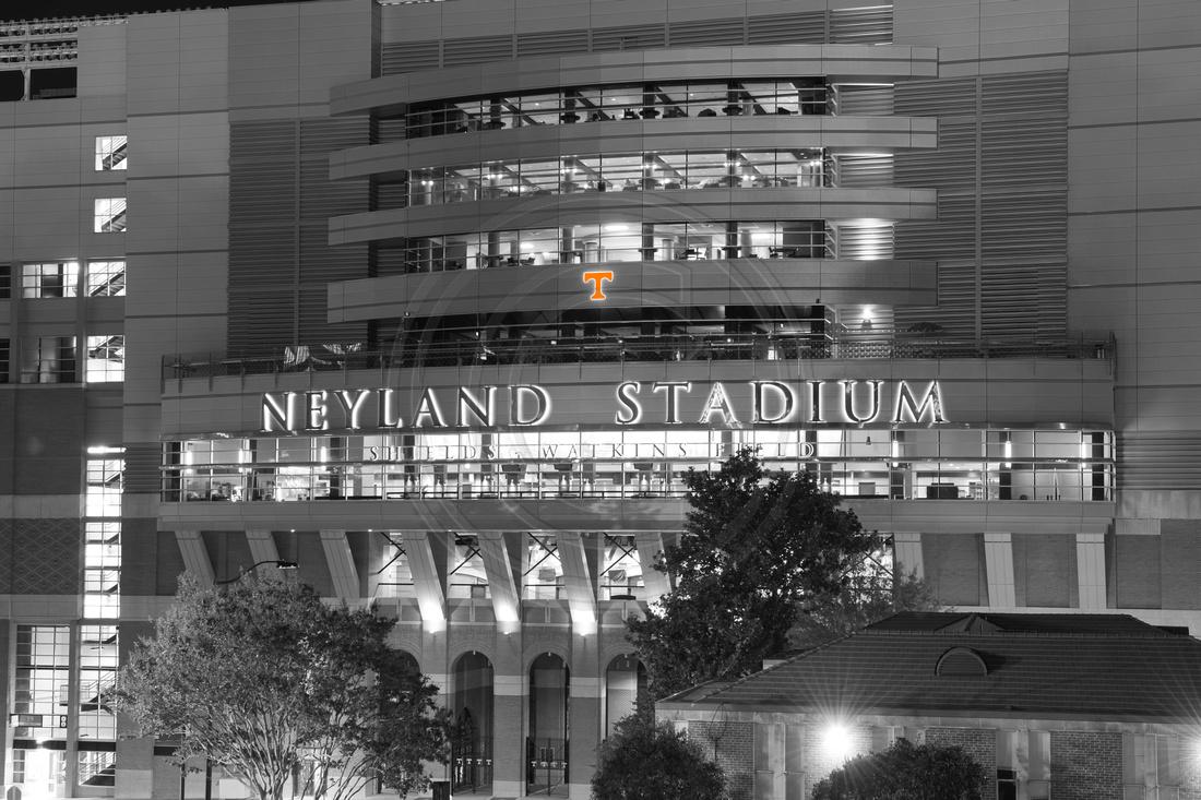 Neyland Stadium Collegiate Licensed Hologram attached. Call to order